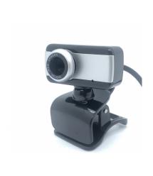 Вебкамера с гарнитурой DC-517, 640p, пласт. корпус, Black - Silver, Box