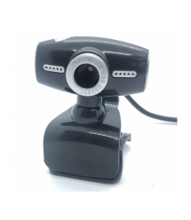 Вебкамера с гарнитурой DC-519, 640p, пласт. корпус, Black - Silver, Box