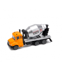 Детская машинка-бетономешалка, orange-gray