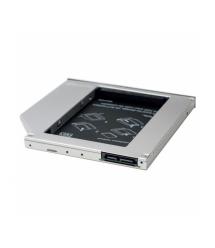Адаптер подключения HDD 2.5`` 9.5 mm в отсек привода ноутбука SATA - mSATA (HDC-25), Blister,Q100
