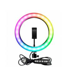 Селфи-лампа Led кольцо MJ26 RGB