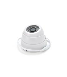 1200 TVL аналоговая камера 3424CF - W, купольная внутренняя c объективом 3.6 мм