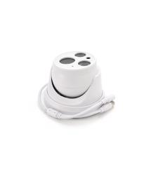 1.3MP AHD камера H-801, купольная пластик c мощной подсветкой 3.6мм