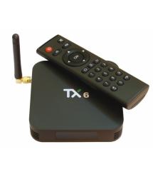 Медиа приставка TX-6 2 - 16G Smart TV Box ( Android 9.0, ОЗУ 2 Гб, 16Гб встроенной памяти,4-х ядерный процессор Allwinner H6 (1,
