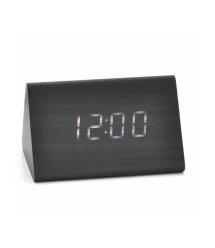 Электронный беспроводной будильник, треугольные, черный