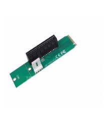 Адаптер M2-PCI-e x4, MOLEX-4pin, отвертка +, Пакет