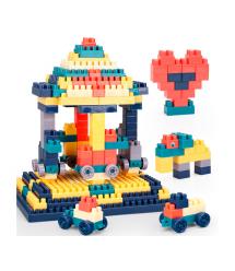 Детский конструктор из строительных блоков, 40 блоков в упаковке