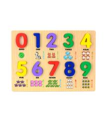 Детская развивающая игра для изучения цифр