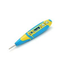 Индикатор-отвертка AX-981 для тестирования напряжения 12-250V, оранжевая ручка
