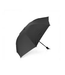 Полуавтоматический зонт, D-96см, защита от солнца, UV (99%), защита от дождя, каркас - Al+Fe, Вlack
