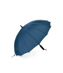 Полуавтоматический зонт LoGo S1112, 55*16K, защита от солнца, UV (99%), защита от дождя, каркас - Al+Fe, Blue