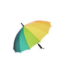 Полуавтоматический зонт LoGo S1112, 55*16K, защита от солнца, UV (99%), защита от дождя, каркас - Al+Fe, Rainbow
