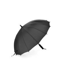 Полуавтоматический зонт LoGo S1106, 56*10K, защита от солнца, UV (99%), защита от дождя, каркас - Al+Fe, Black