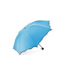 Полуавтоматический зонт LoGo FD-10,D-110см,Blue