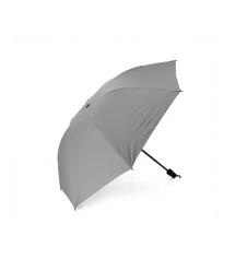 Полуавтоматический зонт, 32*12K, D-105см, защита от солнца, UV (99%), защита от дождя, каркас - Al+Fe, встроенный фонарик, Gray