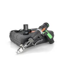 Шуруповерт Merlion DR1220PL с насадкой для шурупов, двумя батареями по 12V, емкость каждой батареи по 1,3Ah + зарядное устройств