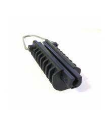 Натяжной зажим Н26 для круглого кабеля сечения от 6,5 до 9 мм, высокопрочный пластик, невыпадающие клинья длиной 120мм, нагрузка