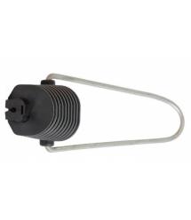 Натяжной зажим Н28 для самонесущих опт. кабелей типа 8 с вынесенным сил. элем. или круглого кабеля диам. от 4 до 6,5 мм, нагрузк