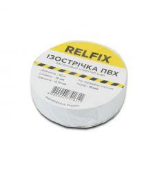 Изолента Relfix (15 мм х 10 м), белая