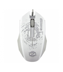 Мышка компьютерная проводная ZORNWEE XG66 - 68 - 73 - 75, White - Gray
