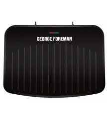 Гриль George Foreman 25820-56 Fit Grill Large, 2400 Вт, антипригар. покр., поддон для жира, черный