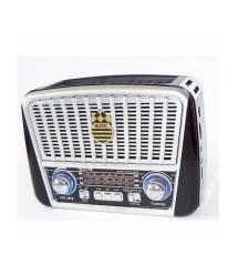 Радиоприемник GOLON RX-456, LED, 3W, FM радио, Входы microSD, USB, AUX, корпус пластмасс, Red, BOX