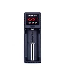 Зарядное устройство универсальное Liitokala Lii-S1,1 канал, LCD дисплей, поддерживает Li-ion, Ni-MH и Ni-Cd AA (R6), ААA (R03),