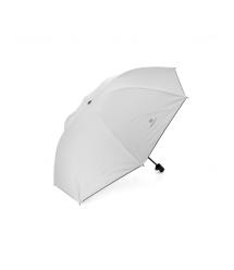 Полуавтоматический зонт, D-96см, защита от солнца, UV (99%), защита от дождя, каркас - Al+Fe, White