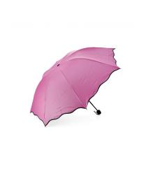Полуавтоматический зонт FD-10, 55*8K, UPF50+, D-110см, защита от солнца, UV (99%), защита от дождя, каркас - Al+Fe, Pink