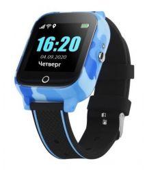 GoGPSme телефон-часы с GPS трекером GOGPS T01 и термометром[T01BL]