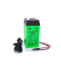 Аккумуляторная батарея литиевая QSuo 4V 10A с элементами Li-ion 18650 (47X47X100)