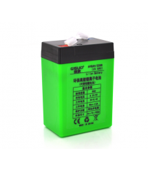 Аккумуляторная батарея литиевая QSuo 6V 8A с элементами Li-ion 18650 (70X46X100)