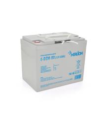 Тяговая аккумуляторная батарея AGM MERLION 6-DZM-80, 12V 80Ah ( 265 x 168 x 215) Q1