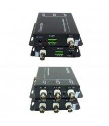 Уплотнитель видеосигнала по коаксиальному кабелю S-3V