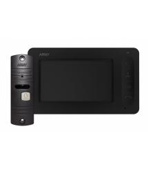 Комплект видеодомофона ARNY AVD-4005 Черный Медный