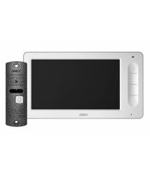 Комплект видеодомофона ARNY AVD-7005 Белый Серый