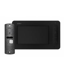 Комплект видеодомофона ARNY AVD-4005 Черный Серый