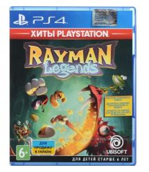 Games Software RAYMAN LEGENDS (Хиты PlayStation) (PS4)
