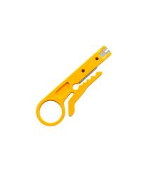 Инструмент для зачистки кабеля Stripper, yellow, цена за штуку, Q100