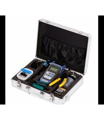 Набор инструментов и тестеров для работы с оптическим кабелем FC-6S 10 в 1 Metall Case