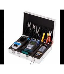 Набор инструментов и тестеров для работы с оптическим кабелем FC-6S 15 в 1 Metall Case