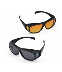 Антибликовые очки для водителей HD Vision Wrap Arounds (2 пары)