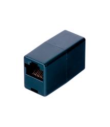 Соединитель RJ45 8P8C мама - мама RJ45 для соединения кабеля, черный, Q100
