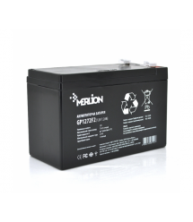 Аккумуляторная батарея MERLION AGM GP1272F2B 12 V 7,2 Ah ( 150 x 65 x 95 (100) ) Black Q5