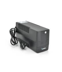 ИБП Merlion Velli 400 (240W) LED, 162-290VAC, AVR 1st, 2 SCHUKO, 1x12V4,5Ah, plastik Case Q4 (279x101x142) 3.55кг