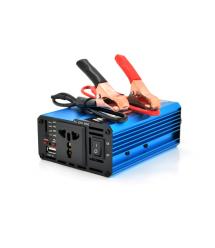 Инвертор напряжения Voltronic, 600W, 24 - 220V, approximated, 1 универсальная розетка, клемы + USB