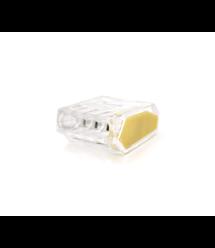 Клемма соединительная 4-проводная WAGO К773-254 для распределительных коробок, 4-pin, прозрачная