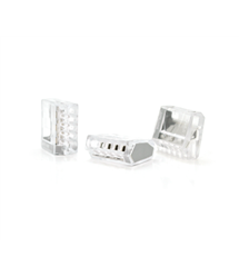 Клемма соединительная 5-проводная WAGO К255 для распределительных коробок, 5-pin, прозрачная