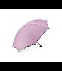 Полуавтоматический зонт FD-10, 55*8K, UPF50+, D-110см, защита от солнца, UV (99%), защита от дождя, каркас - Al+Fe, Rose