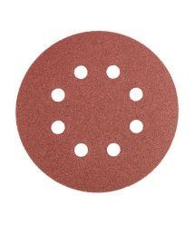 Graphite Круги шлифовальные на липучке 125 мм[K60]